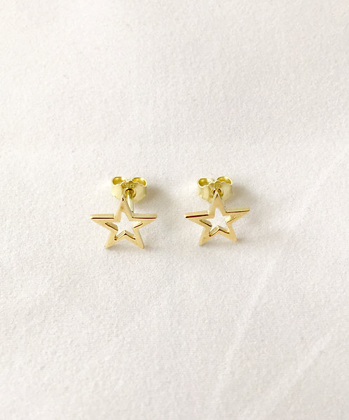 STAR ørepynt gull