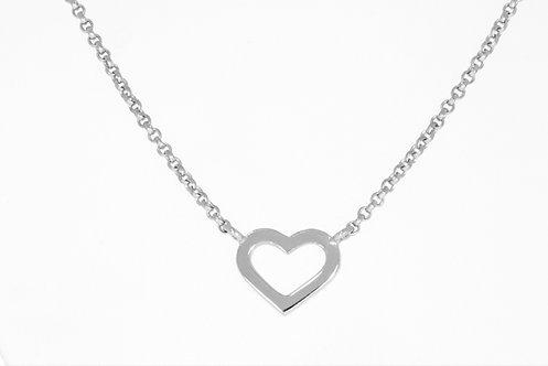 HEART sølvanheng
