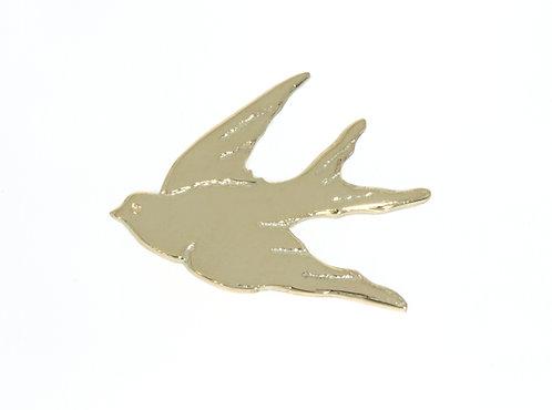 HUIA BIRD nål gull