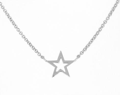 STAR sølvanheng liten