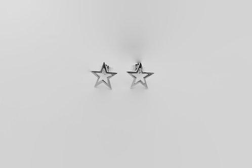 STAR ørepynt sølv