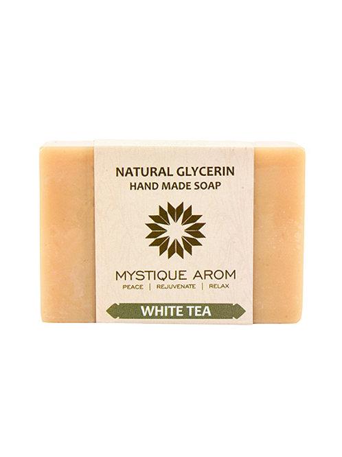 White Tea - Natural Glycerin Handmade Soap  100 gm