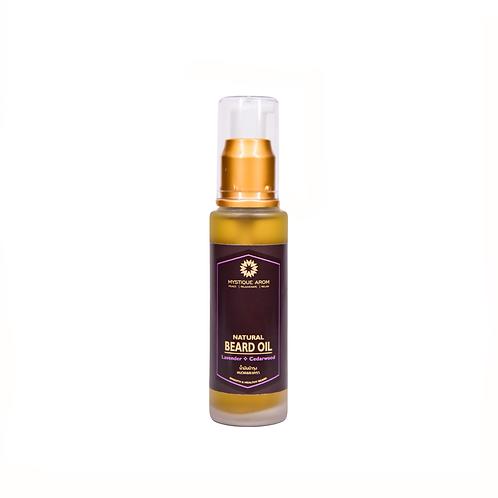 Lavender & Cedarwood - Natural Beard Oil   50 ml