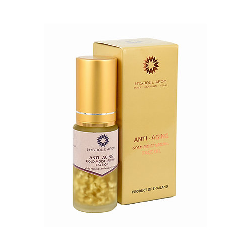 Anti-aging Gold Moisturizing Face Oil   20 ml