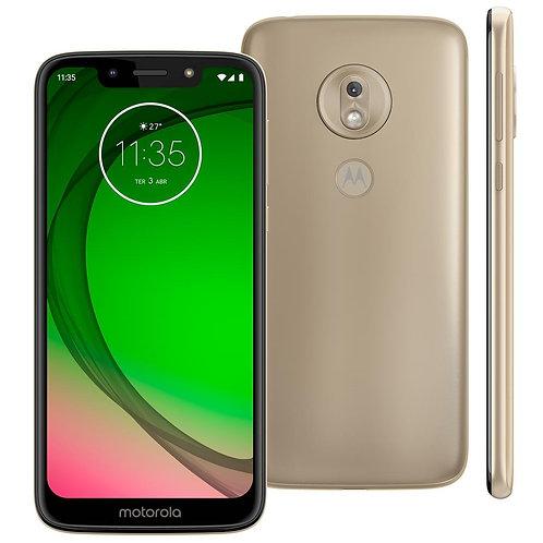 Moto G7 Play - 32GB - Ouro - Seminovo