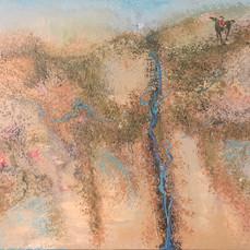20. Grassy Hills to their Summit C 76x102.JPG