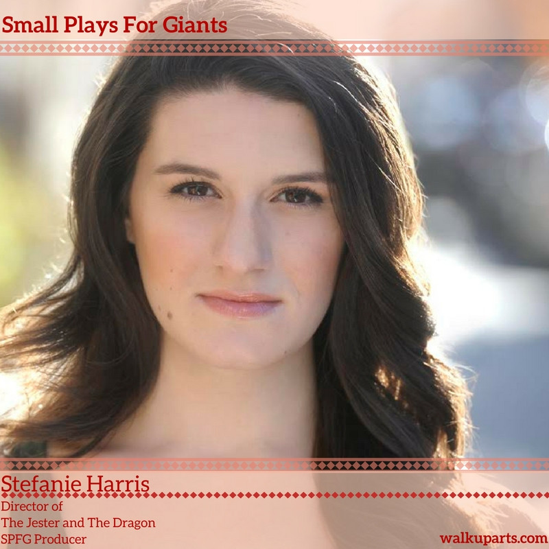 Una Clancy plays MARY in The Jester And The Dragon