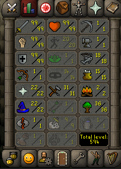 Maxed Combat Staker