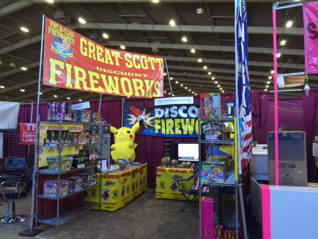 Oklahoma's Firework stand