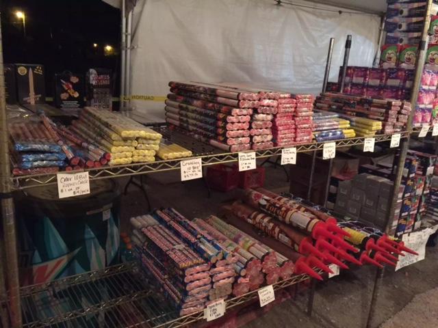Tulsa Firework Stand