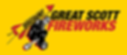 Great Scott Fireworks Logo with social media