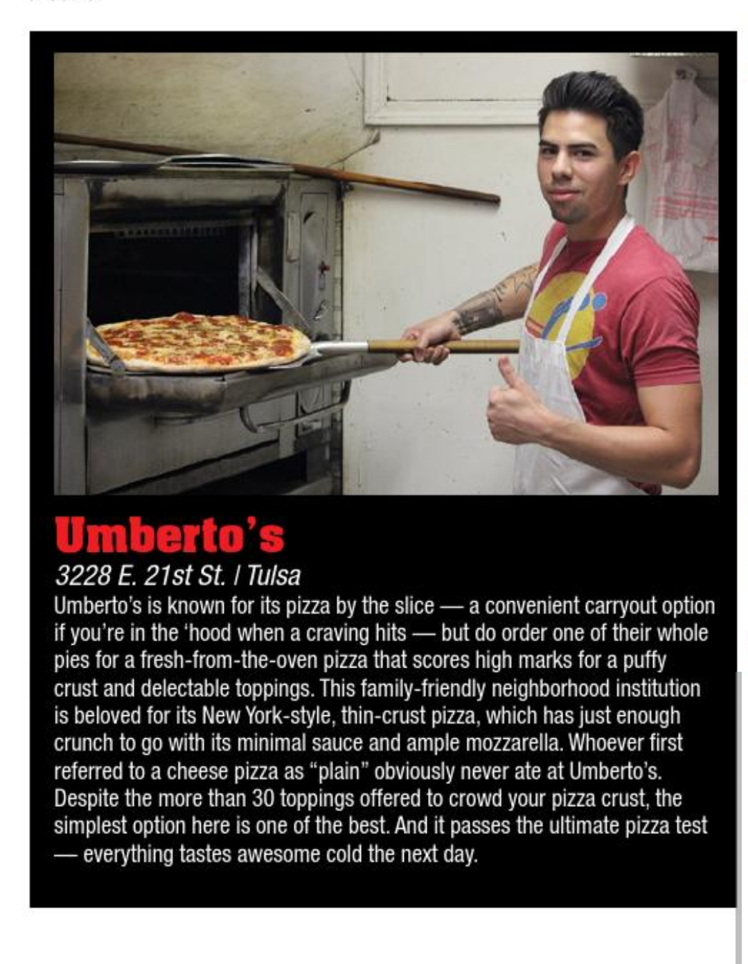 Umberto's Tulsa