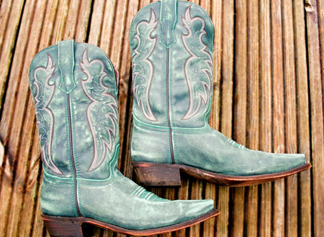 Turquoise Cowboy Boots: An Unexpected Wardrobe Extender