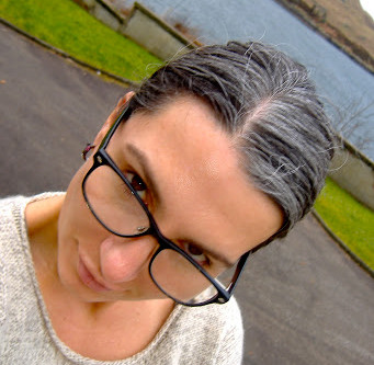 Yes, I Meant to Do That: Growing Out My Natural Gray Hair