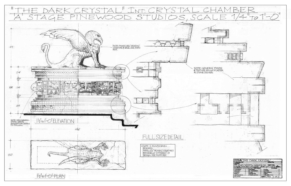THE DARK CRYSTAL - DESIGN PROJECT