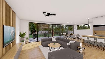 #INTERIOR RENDER -LONDON HOUSE EXTENSION