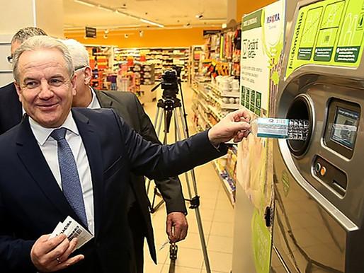 Litauens stora framgång vad gäller återvinning av petflaskor