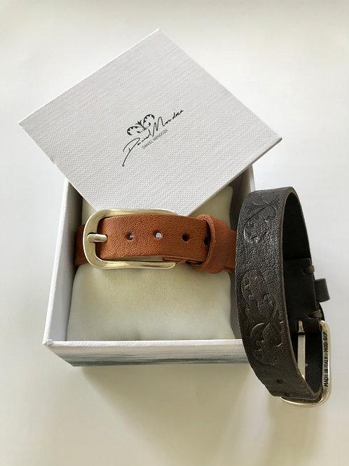 Brett kort armband med Evighetsliljan