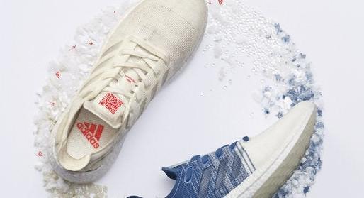 Adidas satsar 100 procent på återvunnen plast