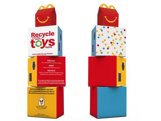 McDonald's i Storbritannien och Irland slutar med plastleksaker