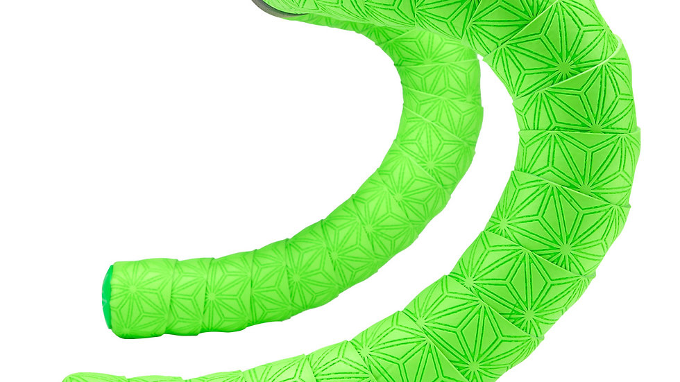 Supacaz, Super Sticky Kush TruNeon Bar Tape, Neon Green BT-06