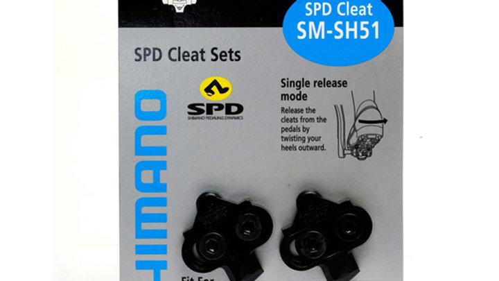 MTB SPD cleats single release