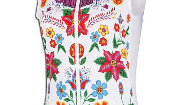 Cycology -Frida (White) Women's Gilet