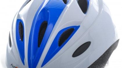 Funkier Dreamz Kids Helmet in White/Blue (46-51cm)