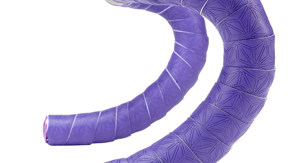 Supacaz, Super Sticky Kush TruNeon Bar Tape, Neon Purple BT-14