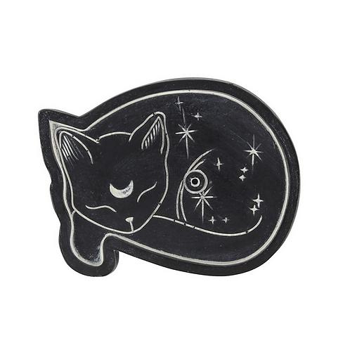 Mystical Cat Incense Holder