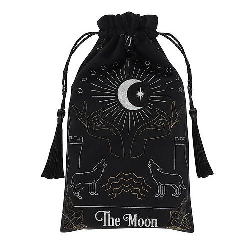 The Moon Tarot Velvet Pouch