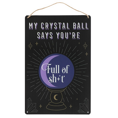My Crystal Ball Says....