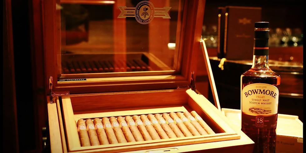 Whiskey and Cigar Pairing