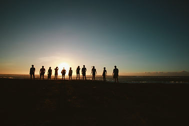 silhouette-of-people-during-sunset-10004