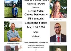 Senate Candidate Forum with GHCWN