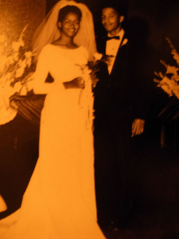 Nell and Bert Wedding photo 1966