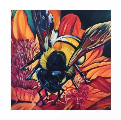 Oh Beehive! - Unframed Print