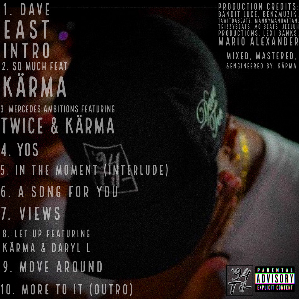 Malc Soon Enough Tracklist
