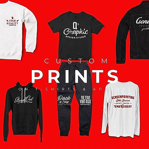 Shop • Customize • Print and Sell Your B