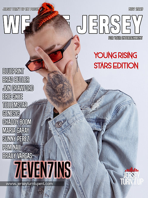 We Are Jersey Magazine November 2019 featuring 7evin7ins