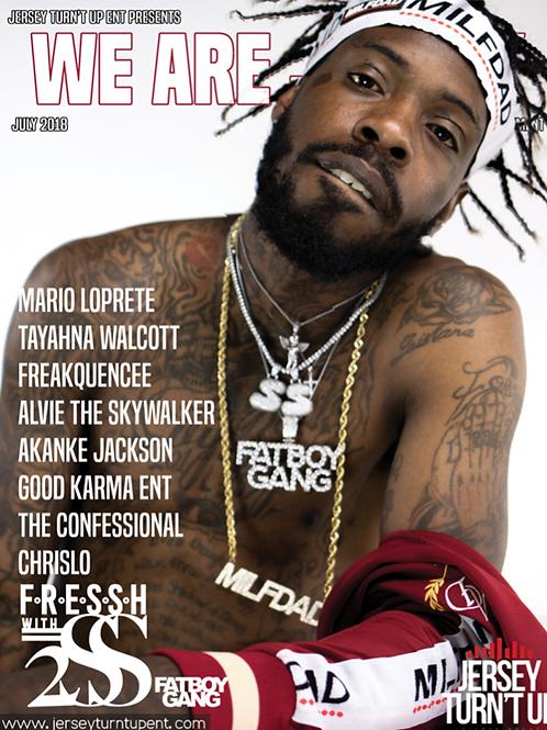 We Are Jersey Magazine July 2018 featuring Fressh
