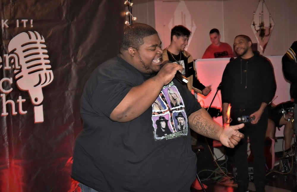 Check It Open Mic Live Performance - S.O.T.M