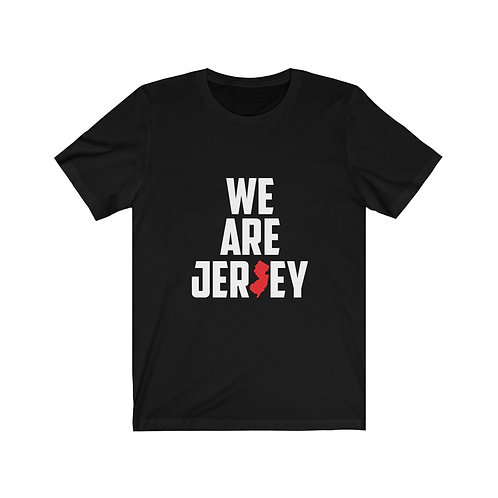 We Are Jersey Short Sleeve Tee