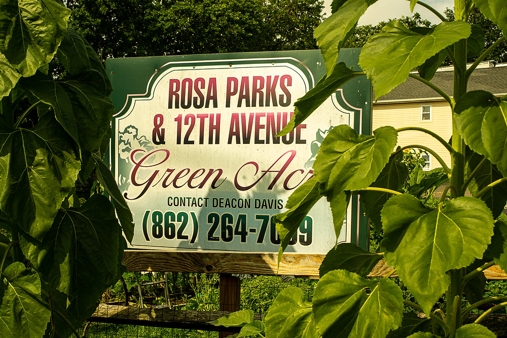Image shot by Mr. Giovanni of Green Acres Community Garden Sign