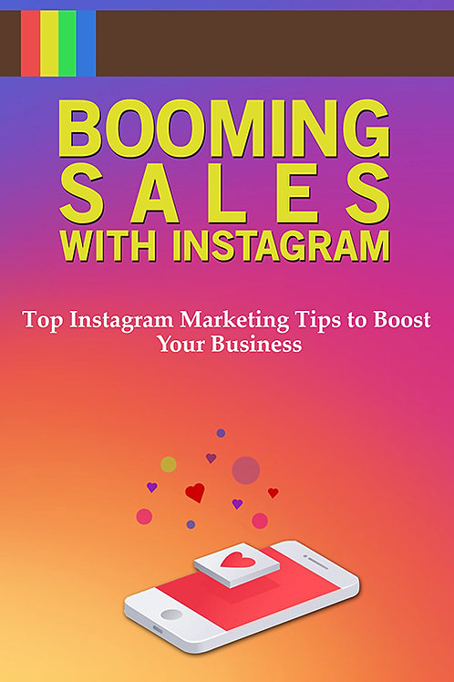 Booming Sales with Instagram E-Book