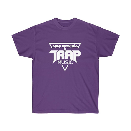 Saga Crystals and Trap Music Unisex Ultra Cotton Tee