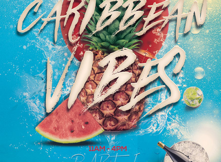LAST CHANCE FOR TICKETS TO OUR CARIBBEAN VIBES YACHT PARTY!
