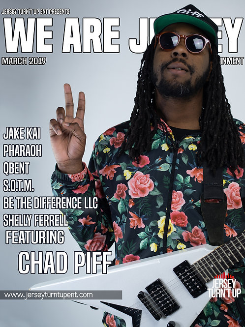 We Are Jersey Magazine March 2019 Issue featuring Chad Piff