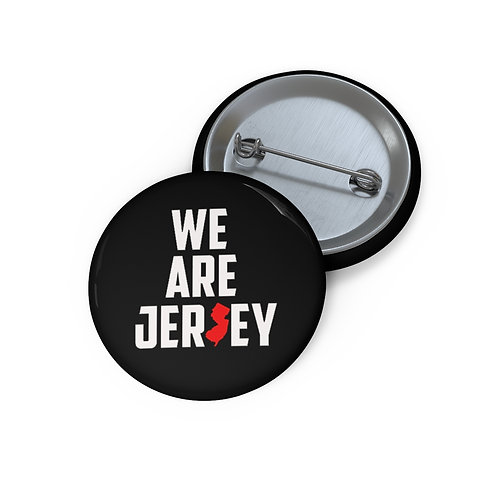 We Are Jersey Pin Buttons