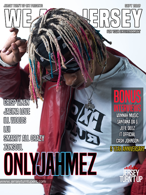 We Are Jersey Magazine September 2019 Issue featuring Jahmez of SloppyVinyl